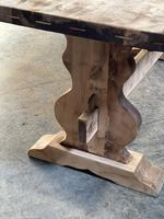 French Bleached Refectory Farmhouse Dining Table (13 of 21)