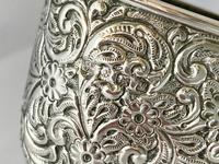 Large Very Rare Sterling Silver Shoe Box. Birmingham 1921 (7 of 9)