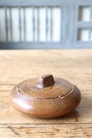Scandinavian / Swedish 'Folk Art' wooden sliding-lid bowl 19th Century (2 of 15)