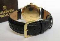 Gents 9ct Gold Marvin Revue Wristwatch (3 of 5)