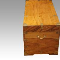 Large Victorian Camphor Wood Trunk (3 of 9)
