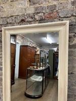 White Stained Oak Framed Mirror (2 of 2)