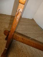 Yorkshire ( Lizardman) Oak Table & 4 Chairs (4 of 13)