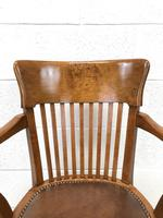 Early 20th Century Antique Swivel Desk Chair (2 of 10)