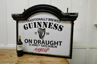 Traditional Large Guiness Hanging Pub Light 1950s (6 of 6)