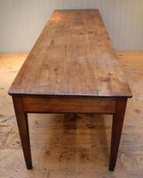 Large French Cherry Wood Farmhouse Table (6 of 9)