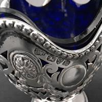 Victorian Silver Sugar Basket (4 of 4)