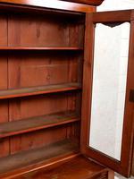 Library Glazed Bookcase Mahogany 19th Century Victorian Display Cabinet (7 of 11)