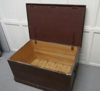 Victorian Painted Masonic Pine Chest (6 of 7)