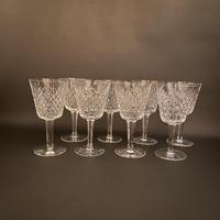 Eight Waterford 'Alana' Claret Glasses