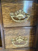 Quality Antique Oak Smokers Cabinet (5 of 6)