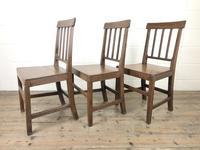 Set of Three 19th Century Farmhouse Chairs (4 of 9)
