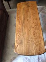 Victorian Oak Coffee Table