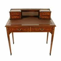 Maple & Co Rosewood Writing Table (2 of 8)