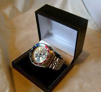 Vintage Wrist Watch 1987 Seiko Diver Mod Great Wave Of Kanagawa Pepsi Bezel Fwo (4 of 12)