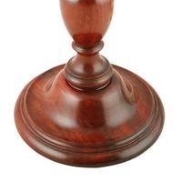 Early 20th Century Mahogany Table Lamp (6 of 6)