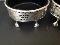 Pair of Hester Bateman Georgian Silver Table Salts - 1785 (2 of 8)