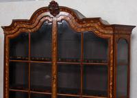 Dutch Bombe Bookcase Vitrine Display Cabinet on Chest Glazed (2 of 17)