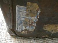English Leather Steamer Trunk (7 of 12)