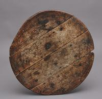 17th Century Oak Cricket Table (7 of 10)