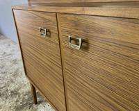 1960's English Mid Century Vintage Tall Sideboard (4 of 5)