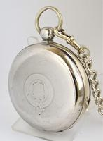Vintage 1920s Swiss pocket watch & chain. (5 of 5)
