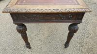 Quality Victorian Oak Writing Desk (11 of 12)
