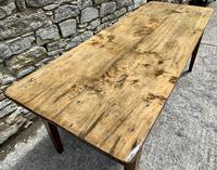 Large French Sycamore & Elm Farmhouse Table (7 of 21)