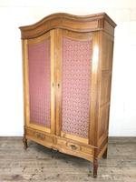 Large Pale Oak Armoire Wardrobe – Knock Down Flat Pack (16 of 17)
