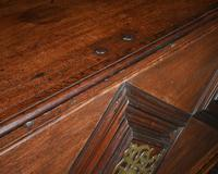 Imposing 17th Century Portuguese Colonial Mahogany & Brass Chest (6 of 8)