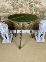 19th Century Gypsy Table With Gilt Legs (2 of 5)
