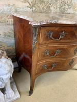 French 19th Century Kingwood Commode with Marble Top (5 of 6)