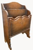 An Oak Magazine Rack by Titchmarsh and Goodwin (2 of 5)