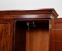 Wardrobe Compactum Linen Press Flame Mahogany (6 of 13)