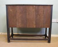 Antique Carved Oak Cupboard Side Table (14 of 14)