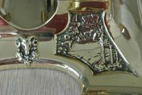 Fine Austrian German Jugendstil  Art Nouveau Double Brass Inkwell c.1905 (7 of 9)