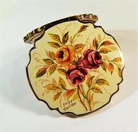 Beautiful Enamel Stratton Loose Foundation Compact 1960s (2 of 8)