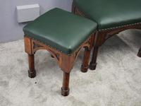 Suite of Late 19th Century Gothic Stools (6 of 8)