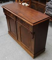 1900's Mahogany 2 Door Chiffoniere Base with Drawers (2 of 5)
