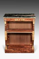 Regency Period Rosewood Gilt Side Cabinet (3 of 6)