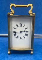 Early Gilt Brass 8 Day Carriage Clock (2 of 13)