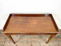 Victorian Two Drawer Mahogany Side Table (3 of 13)