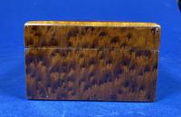 Victorian  French Burr Cedar Jewellery Box with Original Interior (5 of 9)