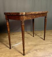 Superb French Rosewood Fold-over Top Card Table (9 of 14)