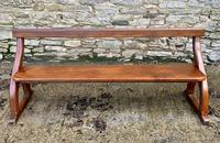 Antique Pitch Pine Gothic Style Church Pew Bench (2 of 13)