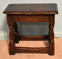 Charles II Style Oak Joint Stools (7 of 7)