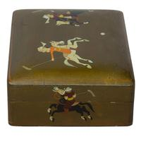 Indian Lacquer Box c1900 (3 of 6)