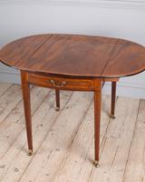 George III Oval Mahogany Pembroke Table (5 of 9)