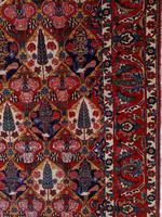 Antique Bakhtiari Rug with Sarv-o-kâdj Design (7 of 14)