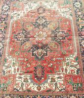 Antique Heriz Carpet Room Size